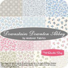 Downstairs Downton Abbey Fat Quarter Bundle<BR>Andover Fabrics
