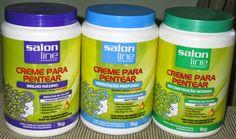 Buh Caixeiro: Cremes para pentear de 1 kg para cabelos cacheados da Salon Line