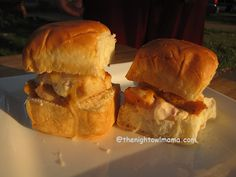 Recipe: Chicken and Cheese Mexi-Ranch Sliders   The Night Owl Mama