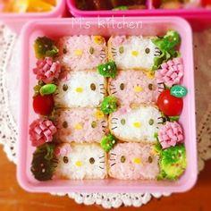 Hello Kitty Inarizushi Bento キティ稲荷