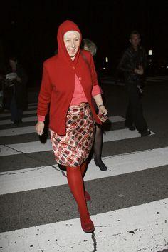 Helen Mirren Cardigan - Helen Mirren Looks - StyleBistro