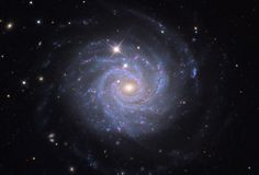 The beautiful face-on spiral galaxy NGC 3344. Photo by Adam Block/Mount Lemmon SkyCenter/University of Arizona