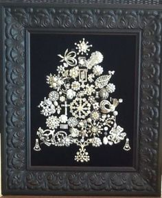 Vintage Jewelry Christmas Tree | eBay