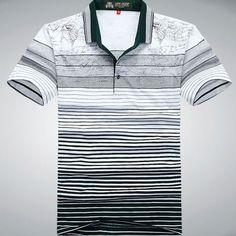 Camisa Polo, Gents T Shirts, Polo Shirt Design, Polo Tees, Sport Wear, Collar Shirts, Shirt Designs, Menswear, Mens Fashion