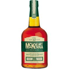 Henry McKenna Single Barrel 10 Year Old Kentucky Straight Bourbon