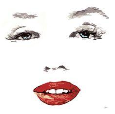 #Marilyn #Monroe drawing