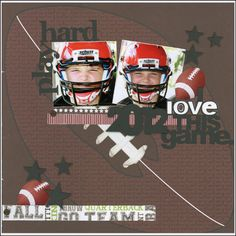 Scrappin' Sports & More: I love this game {football}