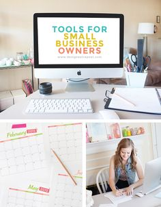 What a great post of 6 Tools to help streamline the lives of Small Business Owners. This post was written by Melissa from Design Eat Repeat (blogger & Graphic Designer) and is filled with some great programs to help run a smooth business!