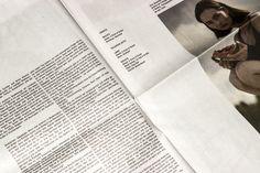 Super Paper — The Munich Fashion Week Issue. Featuring RT Obligat Bold. © 2014 Bureau Mirko Borsche