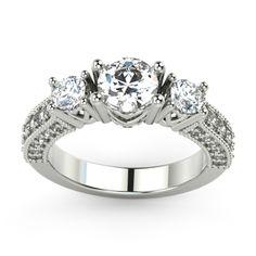Engagement Elite Series Cheap Engagement Rings, Engagement Sets, Rose Gold Engagement Ring, Vintage Engagement Rings, Black Diamond, Diamond Rings, Gold Rings, Wedding Rings Vintage, Stone