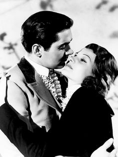 """Rita Hayworth publicity with Tyrone Power for """"Blood And Sand"""" 1941 Hollywood Actor, Golden Age Of Hollywood, Hollywood Stars, Classic Hollywood, Old Hollywood, Male Movie Stars, Classic Movie Stars, Classic Movies, Movies"""