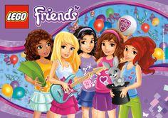 LEGO Friends Birthday Party