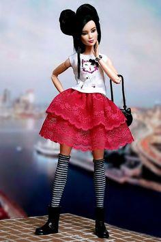 DIY - Одежда для кукол Барби (своими руками)   VK