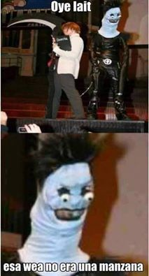 Cursed Images Discover Death Note is coming to America as a live movie? Crunchyroll - Forum - Death Note is coming to America as a live movie? - Page 2 Really Funny Memes, Stupid Funny Memes, Funny Relatable Memes, Haha Funny, Anime Meme, Funny Anime Pics, Funny Images, Funny Pictures, Death Note Funny