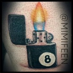 zippo lighter tattoo art by instagram user tattoos pinterest. Black Bedroom Furniture Sets. Home Design Ideas