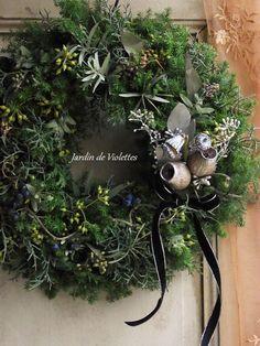<2015'noël*>【限定】ナチュラル・リース フェドゥラフォレII - Jardin de Violettes