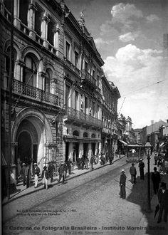 Fotos antigas de SP 2 - 1890/1910 - SkyscraperCity - Rua 15 de Novembro, sentido largo da Sé na altura da atual rua 3 de Dezembro (1902)