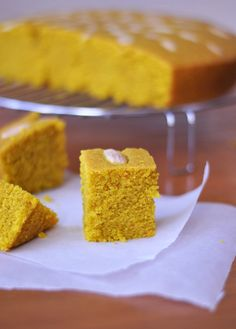 Sfouf is by far one of my favorite Lebanese desserts. It's a moist cake characterized by its intense yellow color from the turmeric spice. It is made from semolina, flour, oil, sugar, and aniseed w...
