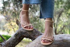 Rose Gold Sandals, Bridal Sandals, Brown Sandals, Strappy Sandals, Gladiator Sandals, Women Sandals, Shoes Photo, Leather Sandals Flat, Ancient Greek Sandals
