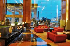 Another angle of Gumaya's Lobby Semarang, Car Parking, Front Desk, Good Night Sleep, Guest Room, Wi Fi, Hotels, Public, Tower