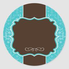 Shop Large Round Bakery Packaging Stickers created by colourfuldesigns. Jar Packaging, Packaging Stickers, Bakery Packaging, Logo Sticker, Sticker Design, Logo Doce, Logos Retro, Vintage Logos, Baking Logo