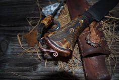 Knife Handles, Bushcraft, Paracord, Blade, Handmade, Hand Made, Parachute Cord, Llamas, Camping Survival