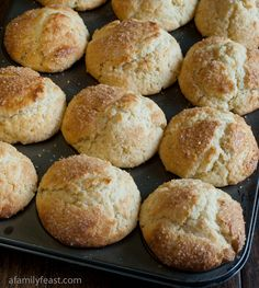 Cream Cheese Muffins - moist and delicious with the perfect, sugary-golden muffin top!  Quick and easy to make.