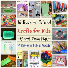 Check out these 16 back to school crafts for your kids! For quality and affordable school supplies, visit Walgreens.com!