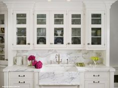 25 Beautiful All White Kitchens