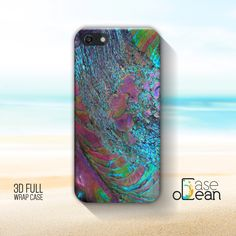 Bright Abalone phone case, violet abalone iPhone case, iPhone 4/4s, 5/5s phone case, 6, 6 Plus abalone shell case, Samsung Galaxy S3, S4, S5 by CaseOcean on Etsy