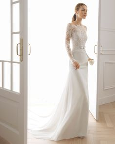 Find ELBET Wedding Dress by Aire Barcelona Bridal Available in 15 boutiques  in Canada  Blush Bridal (Vancouver) 8b27dcd5c91