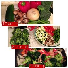easy veggie stirfry