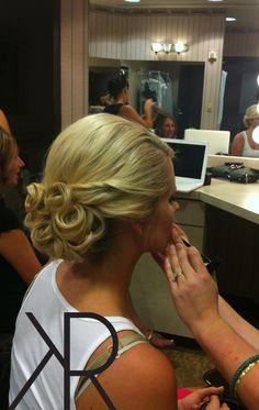 Wedding Hair, updo