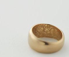 Hunter Ring by Solferino Hidden detail