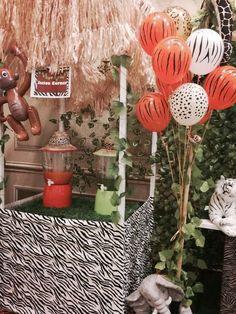 Jungle Safari Birthday Party Ideas | Photo 2 of 41