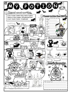 Resultado de imagen para halloween worksheet for kindergarten My First Halloween, Halloween Activities For Kids, Halloween Themes, Halloween Fun, Holiday Activities, Halloween Vocabulary, Halloween Worksheets, Halloween Printable, Reading Worksheets