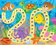 Bordspel · afbeelding · onderwater · water · vis · ontwerp - vector illustratie © Klara Viskova (clairev) (#5386860) | Stockfresh