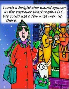 Love Maxine ... straight to the point!