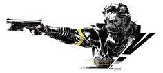 Metal Gear Solid V - Venom Punished Snake - artwork