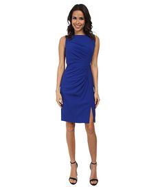 Calvin Klein Calvin Klein  Ruched Front Sheath Dress Atlantis Womens Dress for 74.99 at Im in!