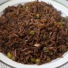 The famous Black Mushroom Rice (Riz Djon-Djon) a very popular Haitian dish usually cooked on Sunday and on holidays makes the perfect side dish.