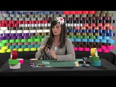 Learn how to video on how to make a duct tape bow and other duct tape hair accessories. Try customizing your creation by using holiday colors, your favorite duct tape print or stickers. This project is great for beginner and intermediate duct tape crafters.    Are you a duct tape fanatic? Check out the Duck Tape Club at http://www.ducktapeclub.c...