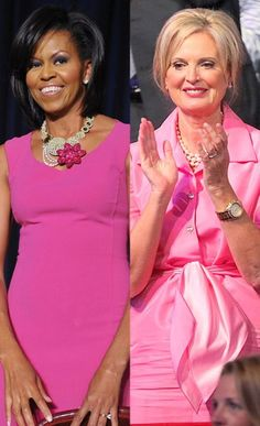 Fashion Face-Off First Lady Edition: Michelle Obama vs. Ann Romney. Cast your vote here and to see their other matching outfits: http://www.eonline.com/news/342643/michelle-obama-vs-ann-romney-fashion-face-off-first-lady-edition