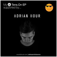 Yesterday I said I will share and celebrate with you guys all the positive support my Tens.On EP got. For day 1 lets make some noise for Adrian Hour. Thanks a lot!  This guy is a bomb. In a short period of time he let his name get big sharing some love from Argentina by collaborating a lot with Mark Knight at Toolroom Records. Check him out: soundcloud.com/adrianhour Tens.On EP full preview:soundcloud.com/aleksandrebanera  #techno #techhouse #technolove #technomusic #darktechno #adrianhour