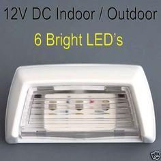 12V-LED-COURTESY-LIGHT-6-SUPER-BRIGHT-LEDS-CARAVAN-CAMPING-4WD