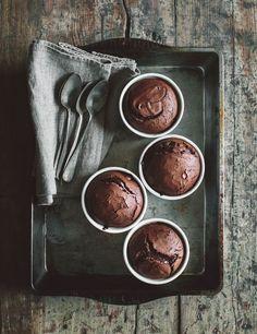 chocolate soufflé /  www.kraut-kopf.de