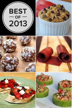 These are really great Ida's to compliment your fitness goals!!!! I want those protein balls!!!!! Healthy snacks from FitSugar