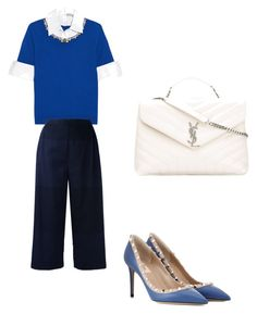 ootd09032017 by the925editor on Polyvore featuring Mary Katrantzou, Stephan Schneider, Valentino and Yves Saint Laurent
