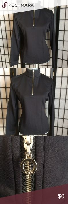 Nils Black Skiwear Pullover Nils Black Skiwear Pullover With Zippered Front.  NWOT. NILS Jackets & Coats
