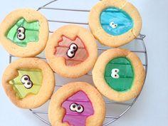 【Splatoon】mochi mochi stained glass cookies もちもちステンドグラスクッキー作ってみた